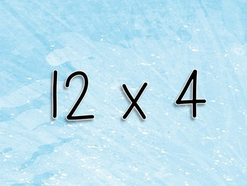 Multiplication Workout x 12s