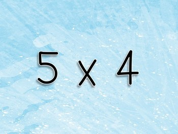 Multiplication Workout x 5s