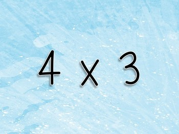 Multiplication Workout x 4s