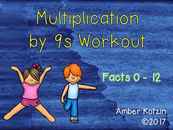 Multiplication Workout x 9s