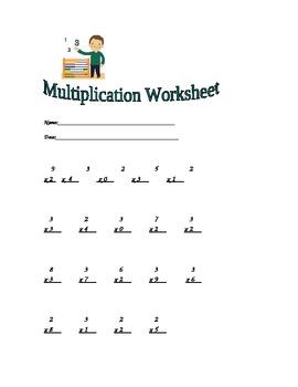 Multiplication Worksheet 2-3