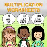 Multiplication Worksheet Maker - Create Infinite Math Worksheets!
