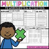 Multiplication Worksheet Pack