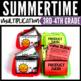 Multiplication Worksheet Summer Fun Bundle