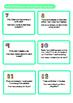 Multiplication Worksheet and Word Problem Cards