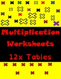 Multiplication Fun Worksheets-12xTables