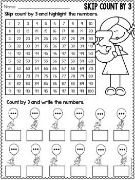 Multiplication Worksheets - Multiplication Facts Practice 3 Times Table