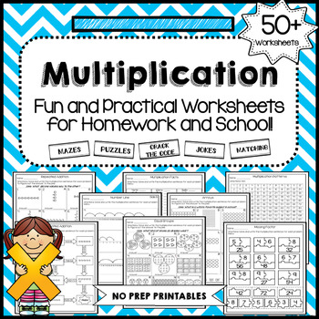 Fun Multiplication Worksheets | Teachers Pay Teachers