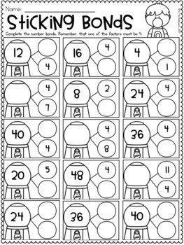 Multiplication Worksheets - Multiplication Facts Practice ...