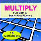 Multiplication Worksheets (4th, 5th, 6th grade)