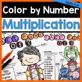 Multiplication Coloring
