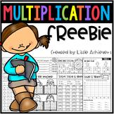Multiplication Worksheets FREEBIE
