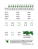 Multiplication Worksheets: Focus on 3s and 4s