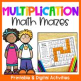 Multiplication Worksheets 1-12: Multiplication Mazes Activ