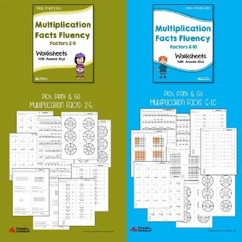 Basic Multiplication Facts Practice Worksheets With Answer Keys