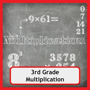 Multiplication Worksheets for 3rd Grade