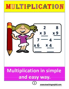 Multiplication for 3rd GRADERS.