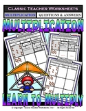 Write Addition & Multiplication Sentence to Match Pictures-Gr. 2-3 (2nd-3rd Gr.)