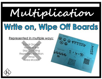 Multiplication Write on, Wipe Off Board
