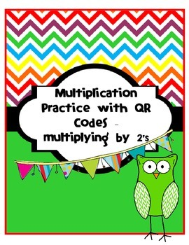 Multiplication X2 Introduction Singapore Math with QR Code