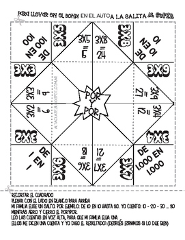 Multiplication X3 - Spanish