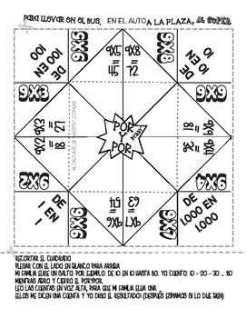 Multiplication X9 - Spanish