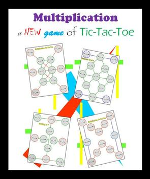 Multiplication:  a new game of Tic-Tac-Toe