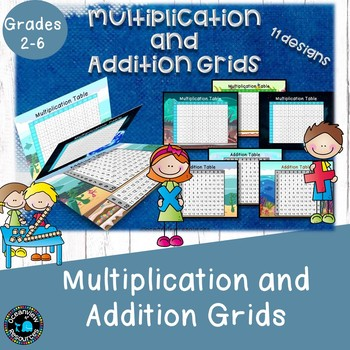 Multiplication and Addition Grids