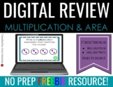 Multiplication and Area Review Powerpoint
