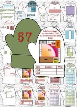 Multiplication and Area Task Cards {Grade 3 Module 4}