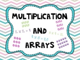 Multiplication and Arrays: Common Core Aligned!