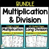 2 Digit Multiplication and Long Division BUNDLE