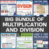 Multiplication and Division Activities, Task Cards, and Games Bundle