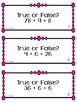 Multiplication and Division: A True/False Classroom Quest