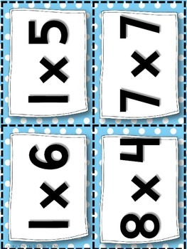 Multiplication and Division Activities