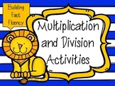 Multiplication and Division Activities To Build Fact Fluency