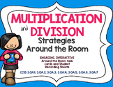 Multiplication and Division Around the Room: Third Grade Common Core Aligned
