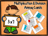 "Multiplication and Division Arrays ""Visual Learning"""