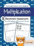 Multiplication and Division Assessment (CCS Operations & Algebraic Thinking)