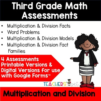 Multiplication and Division Assessments: Modeling and Basic Facts