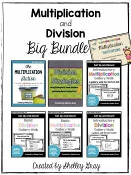 Multiplication and Division BIG BUNDLE