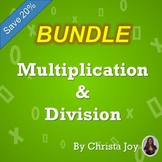 Multiplication and Division BUNDLE for Special Education