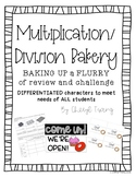 Multiplication and Division Bakery