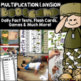 Multiplication and Division Boot Camp Games, Tests, Flashcards