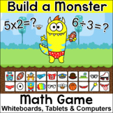Build a Monster Division and Multiplication Game - A Fun Math Review Activity