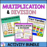 Multiplication & Division Activity Bundle