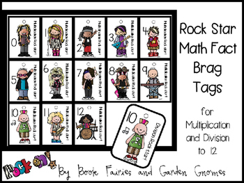 Multiplication and Division Bundle ** with Brag Tags