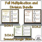 Multiplication and Division Bundle with Google Slides