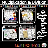 Multiplication Games - Division Games - Concepts - Review & Practice