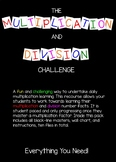 Multiplication and Division Challenge
